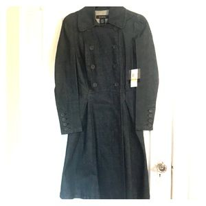 NWT Calvin Klein Double Breasted Long Jacket